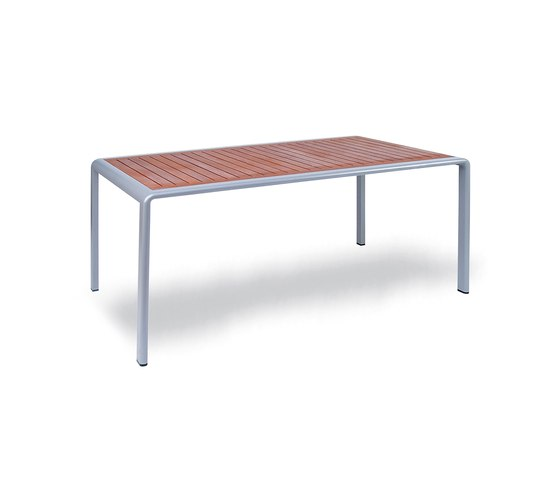 Soft Rectangle Table von KETTAL | Garten-Esstische