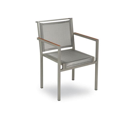 Via Dining Chair de KETTAL | Sièges de jardin