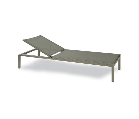 Via Deck Chairs de KETTAL | Méridiennes de jardin