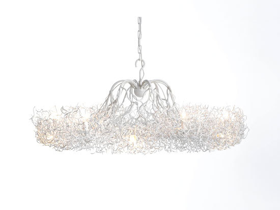 Hollywood chandelier candlestick by Brand van Egmond | Ceiling suspended chandeliers