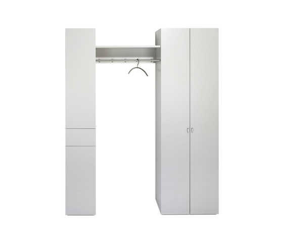 PILASTRO Entrance-area programme by Schönbuch | Freestanding wardrobes