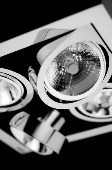 Corner 8148 ceiling lamp de Vibia | Focos reflectores