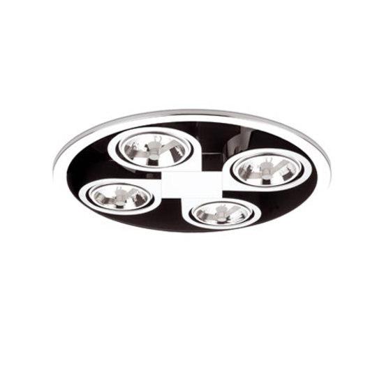 Corner 8149 ceiling lamp de Vibia | Focos reflectores