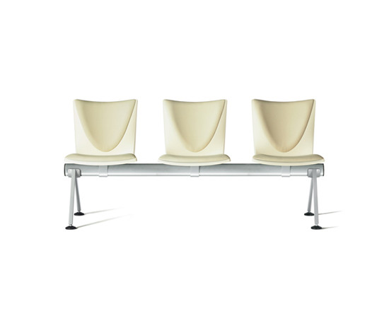 Talk bench system by ENEA | Beam / traverse seating