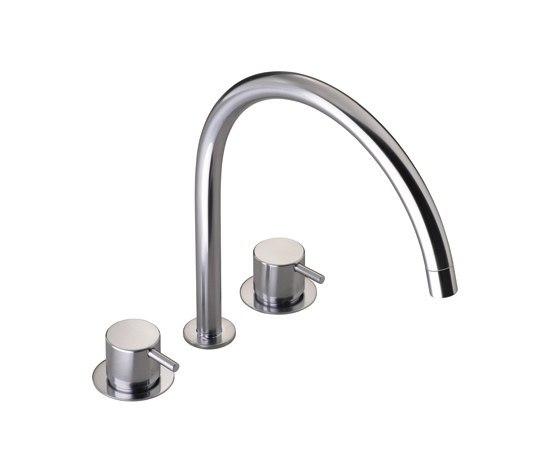 KV15 - Three-hole mixer by VOLA | Kitchen taps