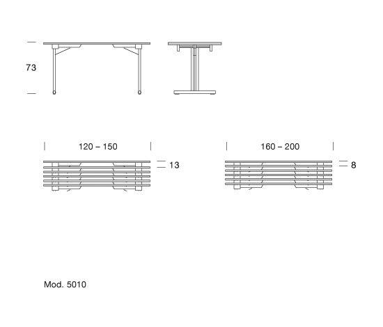 Teos by Dietiker | Multipurpose tables