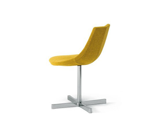 Talea swivelling chair by Desalto | Chairs