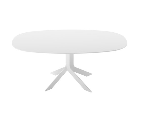 Iblea table oval by Desalto | Dining tables