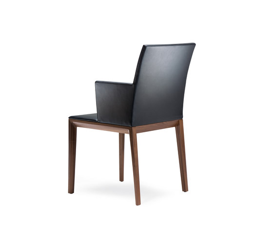 Andoo chair with armrests by Walter Knoll | Visitors chairs / Side chairs