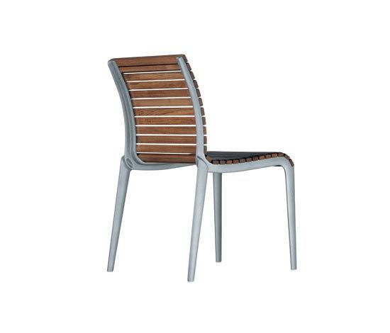 teak chair 475 by Alias | Garden chairs
