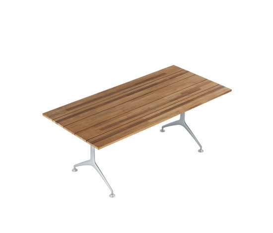 teak table 486_200 by Alias | Dining tables