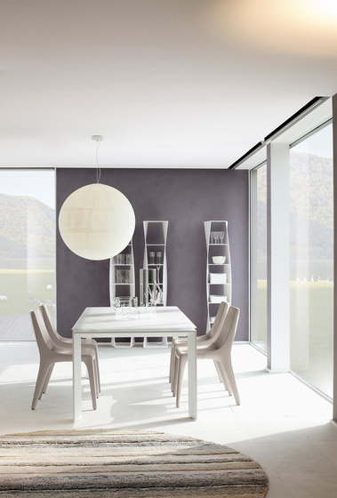 Twice by Bonaldo | Dining tables