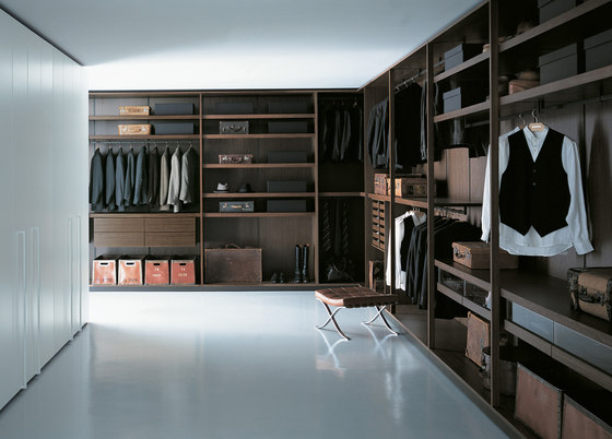 Storage Open Modules by PORRO | Walk-in wardrobes