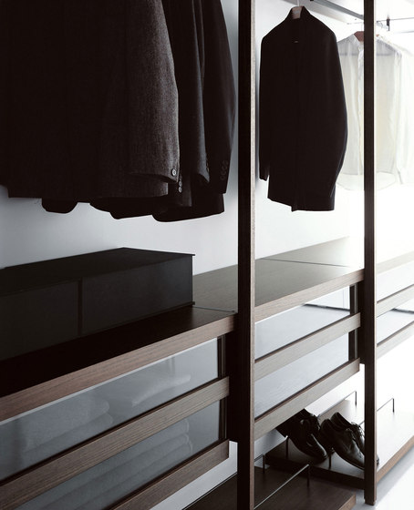 Storage Cabina Armadio by PORRO | Walk-in wardrobes