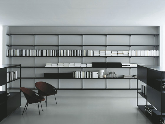 Newtone bookcase by PORRO | Office shelving systems