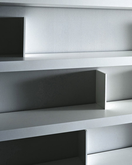 Slider bookcase by PORRO | Office shelving systems