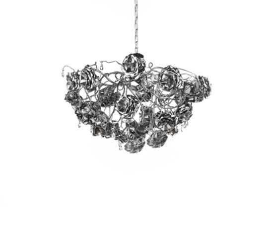 Love you Love you not by Brand van Egmond | Ceiling suspended chandeliers