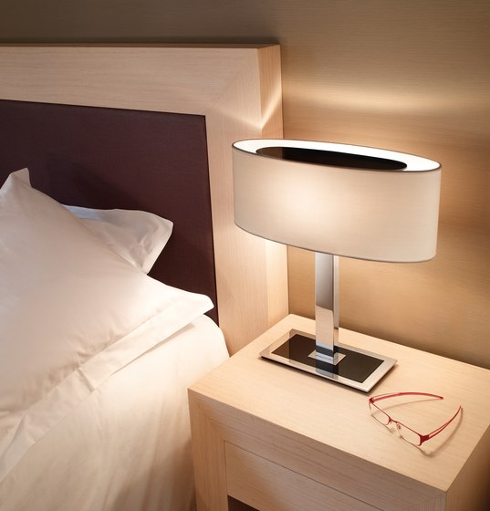 Mei Oval table lamp by BOVER | General lighting
