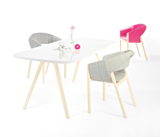 WOGG TIRA Table Jörg by WOGG | Individual desks