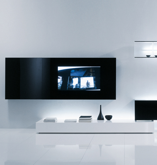 New Concepts Compositions 2007 by Acerbis | AV cabinets