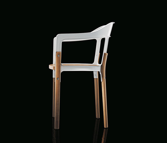 Steelwood Chair by Magis | Visitors chairs / Side chairs