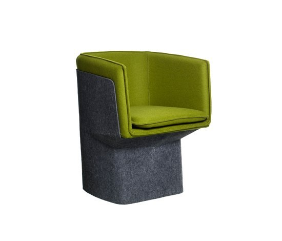 Glove easy chair de Swedese | Chaises de restaurant