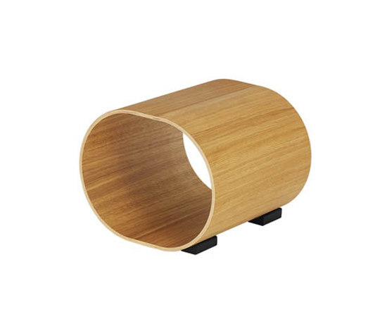 Log stool de Swedese | Poufs