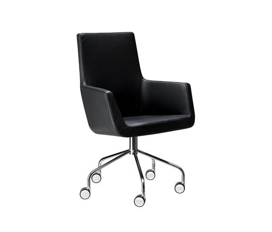 Happy swivel chair de Swedese | Sillas