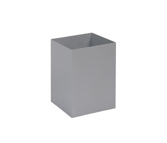 Square paper bin by Cascando | Waste baskets