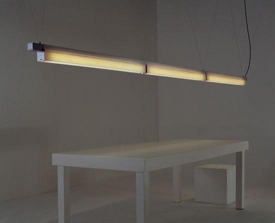 Flúor '07 by Santa & Cole | Pendant strip lights
