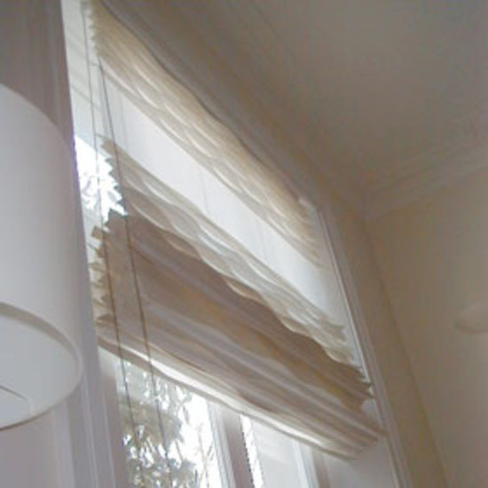 Gap laine felt blind by ANNE KYYRÖ QUINN | Roman/austrian/festoon blinds