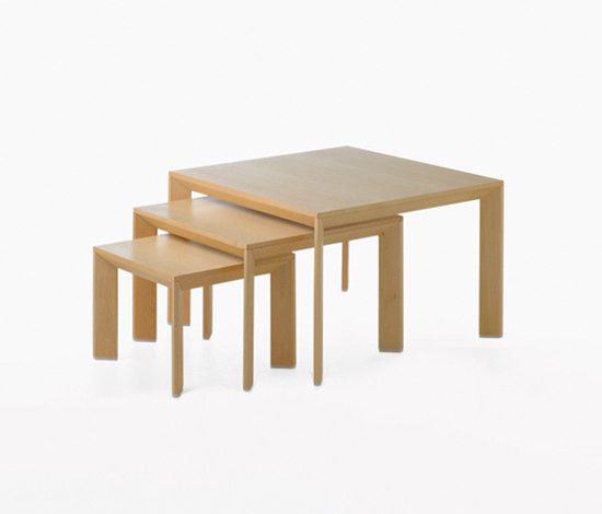 Chamfer table by Karl Andersson | Nesting tables
