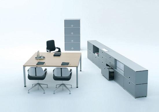 D3 Repräsentativer Arbeitsplatz von Denz | Direktionstische