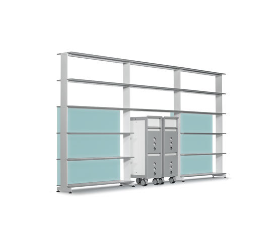 D5 Office by Denz | Office shelving systems