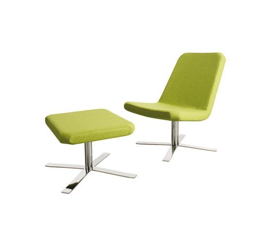 Boris Armchair | Ottoman by Palau | Lounge chairs