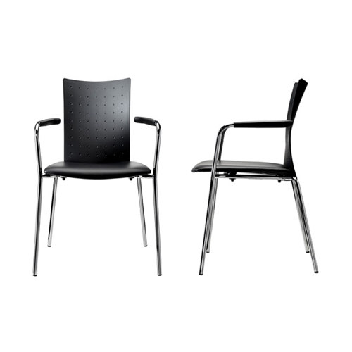 Sala by Randers+Radius | Visitors chairs / Side chairs