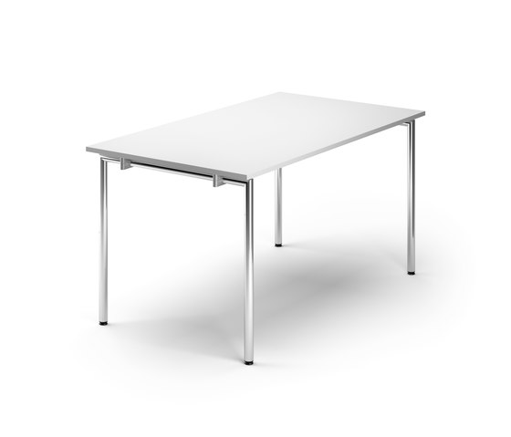 Flex Folding table round legs de Randers+Radius | Mesas multiusos