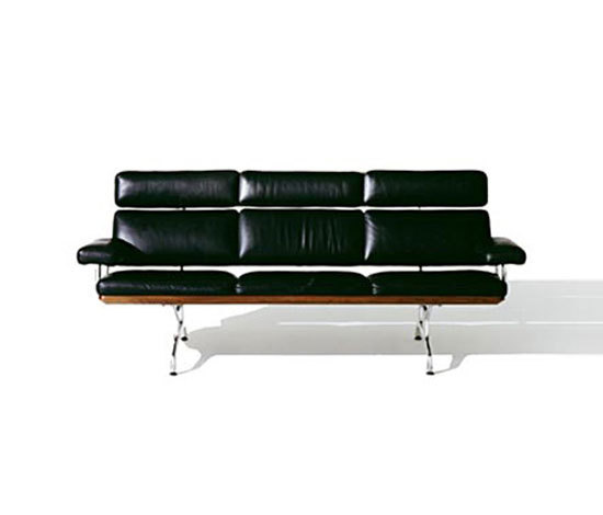 Eames Sofa 3-seater by Herman Miller | Lounge sofas