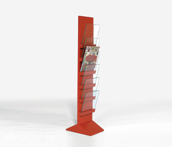 Front Freestanding FRET 2566 by Karl Andersson | Brochure / Magazine display stands