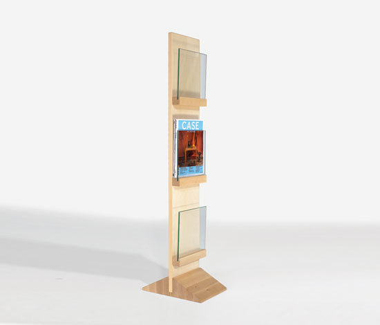 Front Freestanding FRDT 2563 by Karl Andersson | Brochure / Magazine display stands