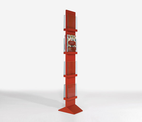 Front Freestanding FRDT 2594 by Karl Andersson | Brochure / Magazine display stands