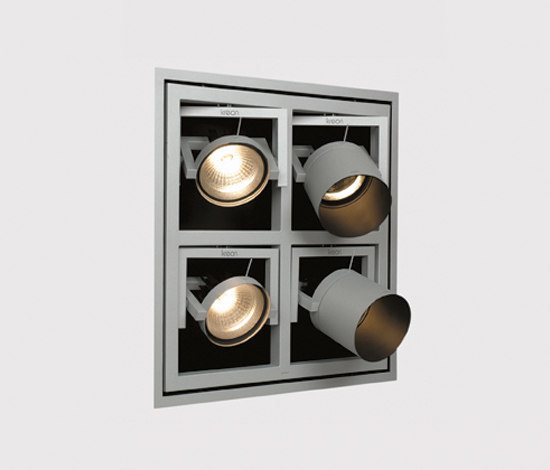 Kwadro Recessed Wall by Kreon | Spotlights