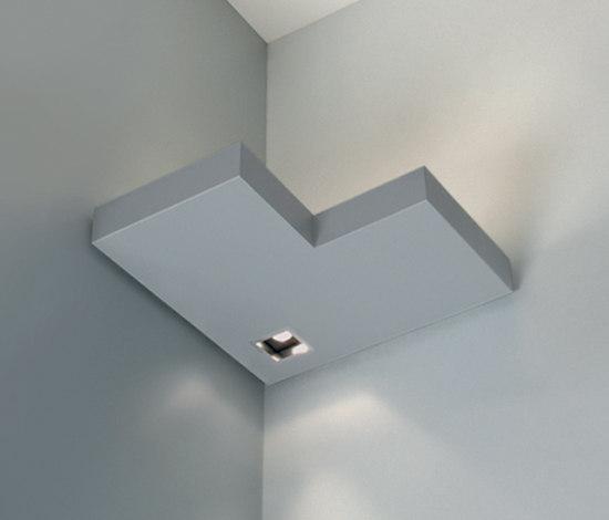 Onn-Corner Negative Indirect/Direct by Kreon | Wall-mounted spotlights