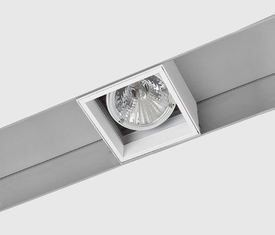 Prologe 145 in-Line/in-Dolma single/single directional de Kreon | Éclairage sur rails