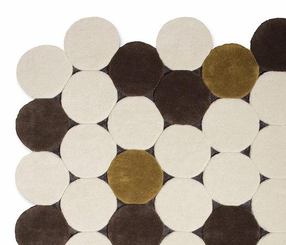 Círculos Rug Beige 1 by GAN | Rugs / Designer rugs