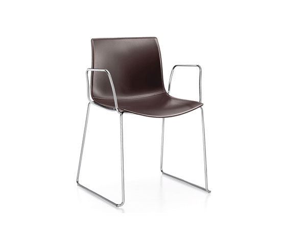 Catifa 46 | 0281 by Arper | Visitors chairs / Side chairs
