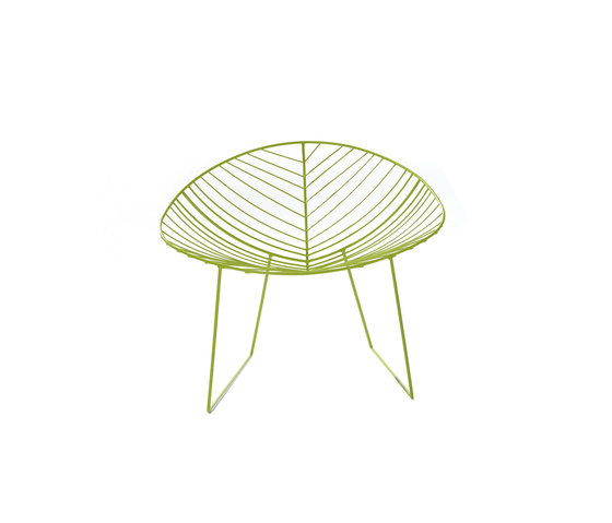 Leaf | 1803 by Arper | Garden armchairs