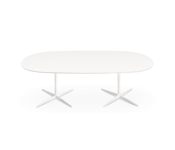 Eolo | Double base by Arper | Dining tables