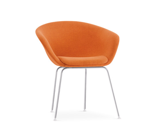 Duna | D002 by Arper | Visitors chairs / Side chairs