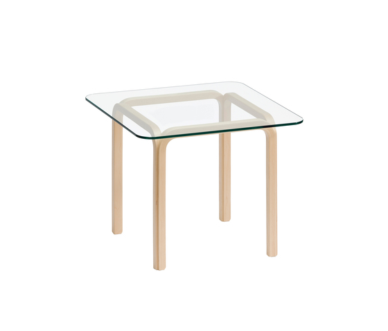 Glasstable Y805C by Artek | Canteen tables